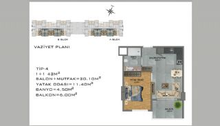 New Apartments in Avsallar Alanya with Nature and Sea View, Property Plans-4