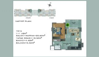 New Apartments in Avsallar Alanya with Nature and Sea View, Property Plans-5