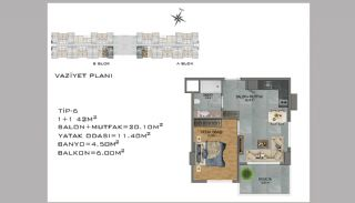 New Apartments in Avsallar Alanya with Nature and Sea View, Property Plans-6