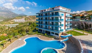 Sea and Nature View Luxury Apartments in Alanya, Alanya / Kargicak