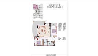 High Quality Apartments 100 mt to the Beach in Mahmutlar, Property Plans-8