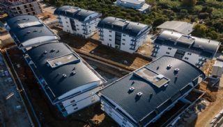 Lyxiga Lägenheter med Naturutsikt i Oba Alanya, Byggbilder-2
