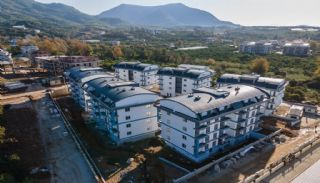 Luxury Apartments with Nature View in Oba Alanya, Construction Photos-3