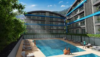 Luxury Apartments with Nature View in Oba Alanya, Alanya / Oba - video