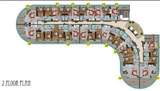 Immobiliers Concept Hôtel Vue Mer à Alanya Mahmutlar, Projet Immobiliers-6