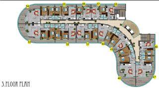 Immobiliers Concept Hôtel Vue Mer à Alanya Mahmutlar, Projet Immobiliers-7