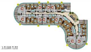 Immobiliers Concept Hôtel Vue Mer à Alanya Mahmutlar, Projet Immobiliers-9