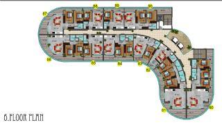 Immobiliers Concept Hôtel Vue Mer à Alanya Mahmutlar, Projet Immobiliers-10