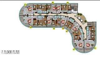 Immobiliers Concept Hôtel Vue Mer à Alanya Mahmutlar, Projet Immobiliers-11
