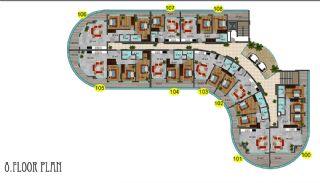 Immobiliers Concept Hôtel Vue Mer à Alanya Mahmutlar, Projet Immobiliers-12