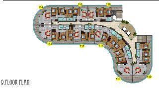 Immobiliers Concept Hôtel Vue Mer à Alanya Mahmutlar, Projet Immobiliers-13