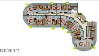 Immobiliers Concept Hôtel Vue Mer à Alanya Mahmutlar, Projet Immobiliers-14