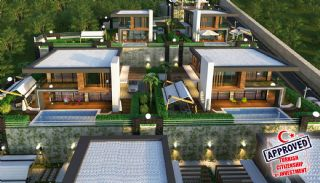 Splendid Detached Villas with Sea View in Kargicak Alanya, Alanya / Kargicak