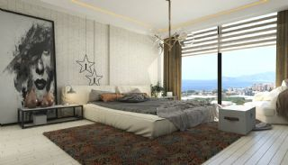 Splendid Detached Villas with Sea View in Kargicak Alanya, Interior Photos-6