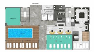 5-Stars Hotel Concept Apartments in Alanya Avsallar, Property Plans-2