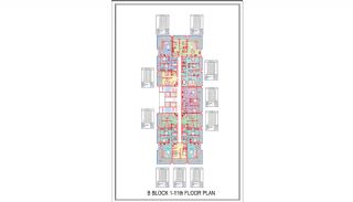 Centrally Located New-Built Apartments in Alanya Mahmutlar, Property Plans-4