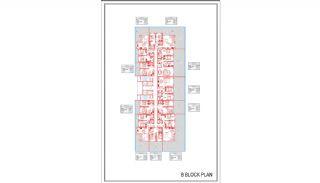 Новые Квартиры в Центре Махмутлара, Алания, Планировка -5