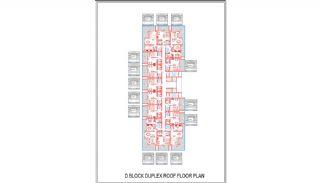 Новые Квартиры в Центре Махмутлара, Алания, Планировка -9