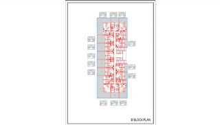 Новые Квартиры в Центре Махмутлара, Алания, Планировка -10