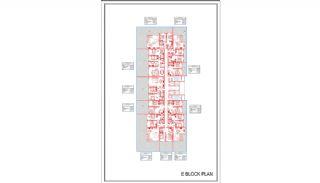Новые Квартиры в Центре Махмутлара, Алания, Планировка -11