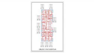 Новые Квартиры в Центре Махмутлара, Алания, Планировка -12