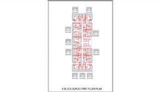 Новые Квартиры в Центре Махмутлара, Алания, Планировка -13