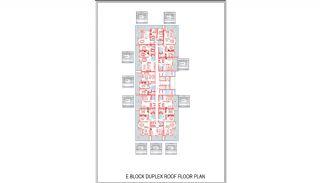 Новые Квартиры в Центре Махмутлара, Алания, Планировка -14