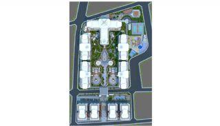Новые Квартиры в Центре Махмутлара, Алания, Планировка -16
