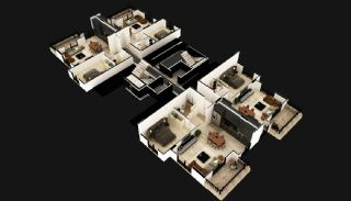 Luxury Apartments in the Center of Mahmutlar Alanya, Property Plans-1