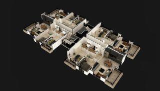 Luxus Wohnungen im Zentrum von Mahmutlar Alanya, Immobilienplaene-3