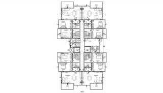 Luxus Wohnungen im Zentrum von Mahmutlar Alanya, Immobilienplaene-9