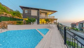 Fully Furnished Duplex Villas with Sea View in Alanya Tepe, Alanya / Tepe