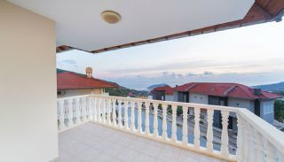 Fully Furnished Duplex Villas with Sea View in Alanya Tepe, Interior Photos-13