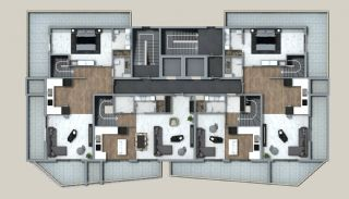 Exclusive Properties in the Deluxe Complex in Alanya, Property Plans-3