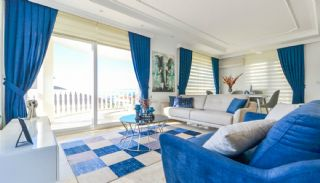 Sea View Detached Villas with a Spacious Terrace in Alanya, Interior Photos-1