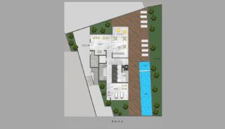 Modern Apartments 350 mt to the Beach in Mahmutlar Alanya, Property Plans-2