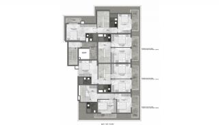 Modern Apartments 350 mt to the Beach in Mahmutlar Alanya, Property Plans-3