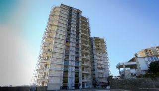 Flats with Excellent Nature and City Views in Alanya, Construction Photos-1