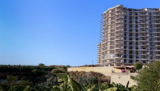 Flats with Excellent Nature and City Views in Alanya, Construction Photos-4