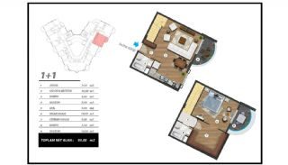 Flats with Excellent Nature and City Views in Alanya, Property Plans-3