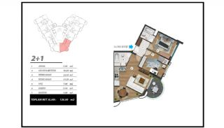 Flats with Excellent Nature and City Views in Alanya, Property Plans-7