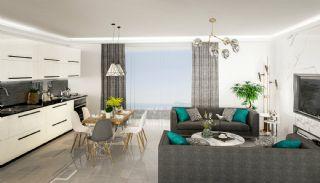 Квартиры в Каргыджаке в Алании в 50 Метрах от Пляжа, Фотографии комнат-1