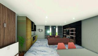 Wohnungen 50 m vom berühmten Cleopatra Strand in Alanya, Foto's Innenbereich-2