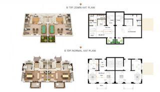 Authentische Häuser mit fantastischem Meerblick in Alanya, Immobilienplaene-1