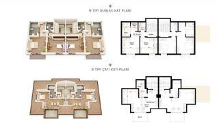Authentische Häuser mit fantastischem Meerblick in Alanya, Immobilienplaene-2