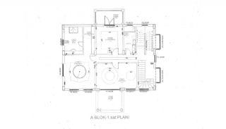 Authentische Häuser mit fantastischem Meerblick in Alanya, Immobilienplaene-5