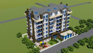 شقق حديثة البناء تبعد 700 متر عن الشاطئ في ألانيا, الانيا / محمودلار