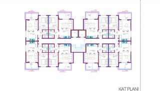 New-Built Apartments 700 mt to the Beach in Alanya, Property Plans-2