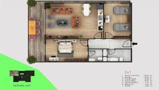 Immobilier Exclusif Vue Sur Mer et Rivière à Alanya, Projet Immobiliers-1