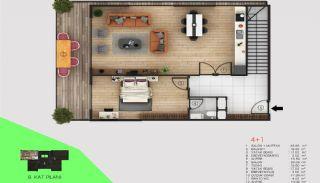 Immobilier Exclusif Vue Sur Mer et Rivière à Alanya, Projet Immobiliers-3